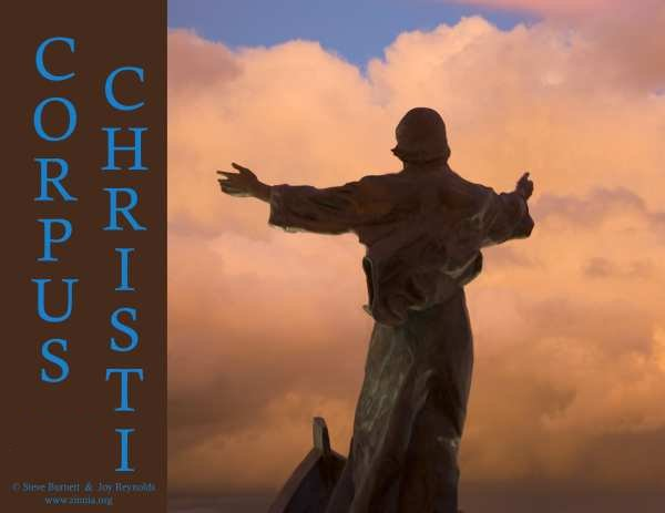 Christ with arms outstretched